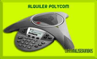 Cincomilisegundos - Alquiler polycom