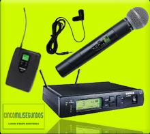 Cincomilisegundos - Alquiler de microfonía inalámbrica