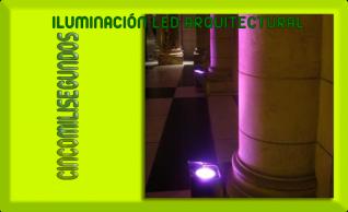 Cincomilisegundos - Alquiler de iluminación led sin cables.
