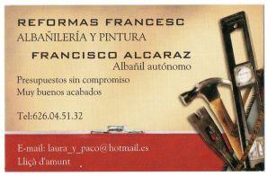 Reformes Francesc